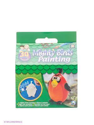 Разрисуй попугая 3D AMAV. Цвет: зеленый