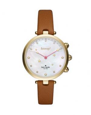 Умные часы KATE SPADE New York. Цвет: коричневый