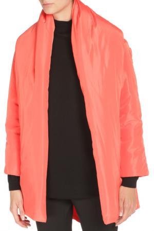 Пальто One Size Cyrille Gassiline. Цвет: оранжевый