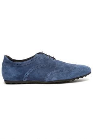 Ботинки Sergio Rossi. Цвет: синий