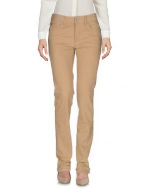Повседневные брюки HENRY COTTON'S. Цвет: верблюжий