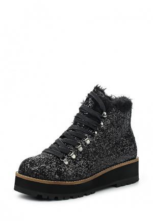 Ботинки Buffalo. Цвет: черный