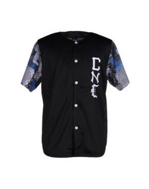 Pубашка CROOKS & CASTLES. Цвет: черный