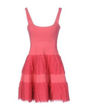 Короткое платье ANTONINO VALENTI. Цвет: коралловый