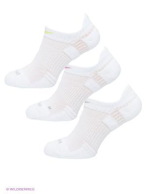 Носки 3PPK WOMENS DRI-FIT, 3 пары Nike. Цвет: белый, салатовый, розовый