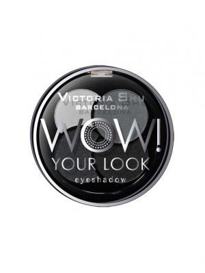 Тени для век WOW! YOUR LOOK №245 Victoria Shu. Цвет: белый, антрацитовый, серый, черный