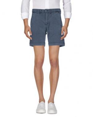 Джинсовые шорты REMI RELIEF. Цвет: серый