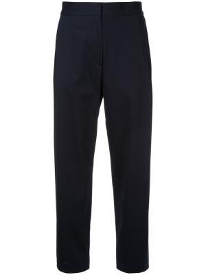 Tailored trousers H Beauty&Youth. Цвет: синий