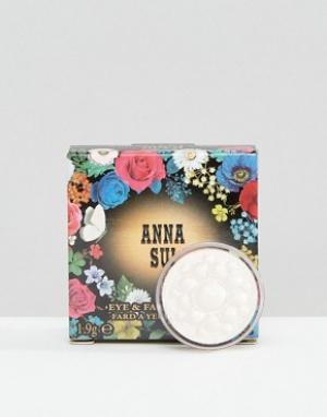 Anna Sui Тени для век и лица Satin Pearl. Цвет: фиолетовый