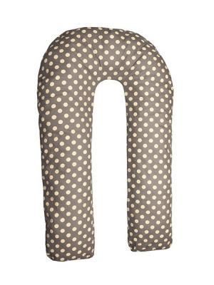 Подушка для беременных Здоровье и комфорт. Цвет: коричневый, желтый