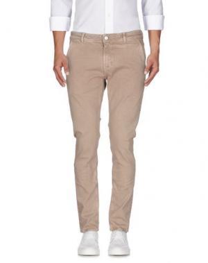 Джинсовые брюки PT05. Цвет: песочный