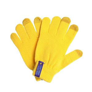 Перчатки  Touch Gloves Yellow TrueSpin. Цвет: желтый