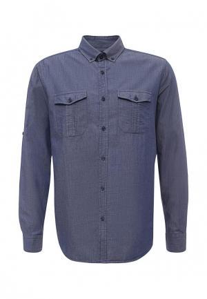 Рубашка LC Waikiki. Цвет: синий