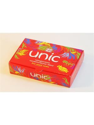 Мыло косметическое натуральное UNIC для юной кожи 85 г Царство Ароматов. Цвет: белый