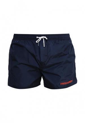 Шорты для плавания Dsquared Underwear. Цвет: синий