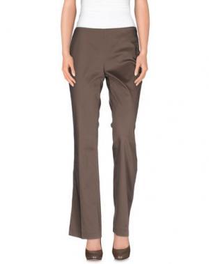 Повседневные брюки KILTIE. Цвет: хаки