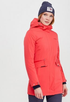 Куртка утепленная High Experience. Цвет: розовый