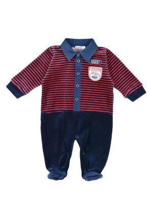 Комбинезон детский MANAI. Цвет: темно-синий