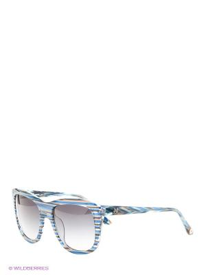 Солнцезащитные очки MM 549 03 Missoni. Цвет: голубой