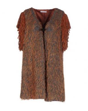 Легкое пальто ANGELA MELE MILANO. Цвет: коричневый