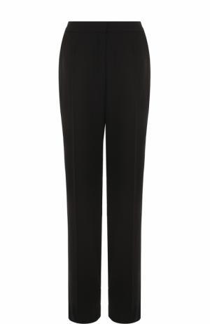 Широкие брюки прямого кроя со стрелками Escada. Цвет: черный