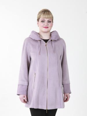 Пальто Перла VIKO. Цвет: бледно-розовый