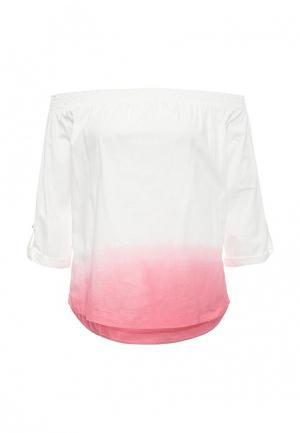 Блуза Patrizia Pepe. Цвет: белый