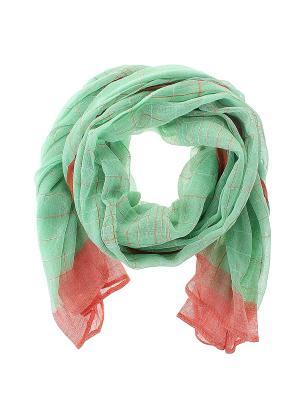 Платок Migura. Цвет: зеленый, оранжевый