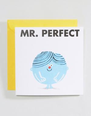 OHH DEER Открытка Mr Perfect. Цвет: мульти