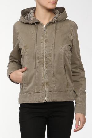 Куртка Sanbal. Цвет: зеленый