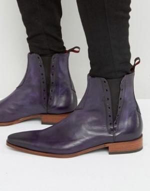 Jeffery West Кожаные ботинки челси Yardbird. Цвет: фиолетовый