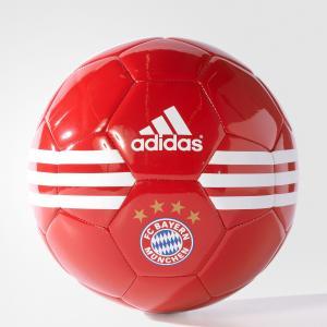 Футбольный мяч (подарочный) FC BAYERN  Performance adidas. Цвет: красный