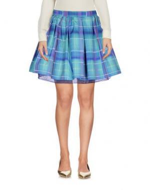 Мини-юбка TEE-TREND. Цвет: светло-зеленый