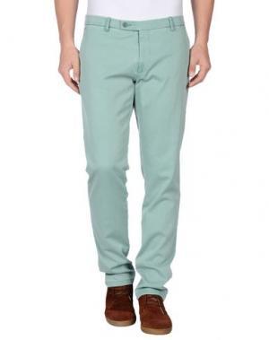 Повседневные брюки BERWICH. Цвет: светло-зеленый