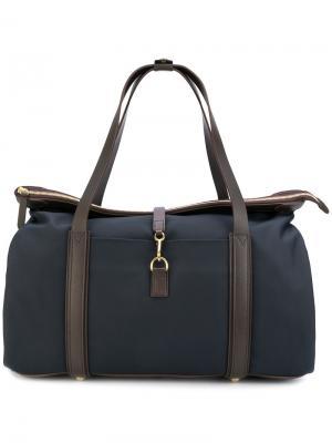 Дорожная сумка с контрастной отделкой Weekend Mismo. Цвет: синий