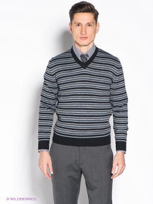 Пуловер JB casual. Цвет: серый, черный
