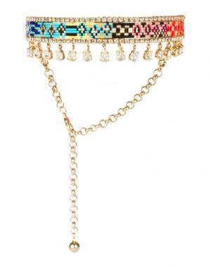 Ожерелье SHOUROUK. Цвет: золотистый