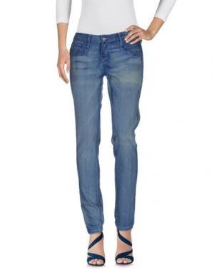 Джинсовые брюки BLEULAB. Цвет: синий