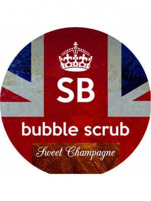 Скраб-пена bubble scrub sweet champagne SHAMPOO BAR. Цвет: светло-коричневый