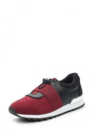 Кроссовки Inario. Цвет: бордовый