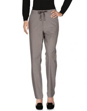 Повседневные брюки TAIFUN. Цвет: голубиный серый
