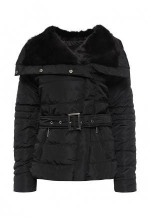 Куртка утепленная Emoi. Цвет: черный