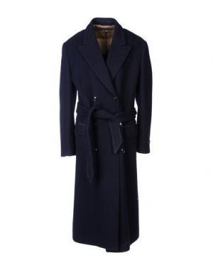 Пальто MARC JACOBS. Цвет: темно-синий