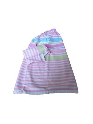 Набор для сауны женский TOALLA. Цвет: розовый
