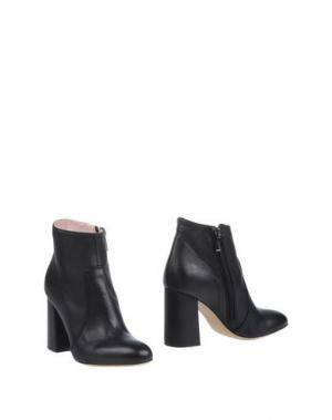 Полусапоги и высокие ботинки FAUZIAN JEUNESSE. Цвет: черный