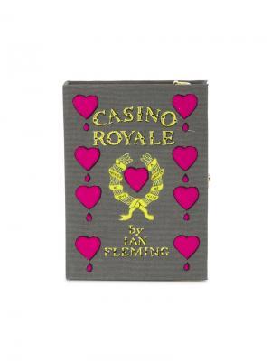 Клатч-книга Casino Royale Olympia Le-Tan. Цвет: зелёный
