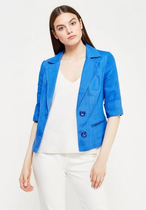 Пиджак Indiano Natural. Цвет: синий