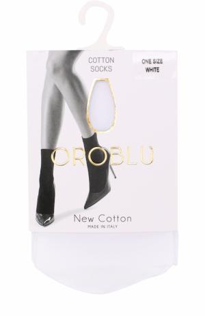 Капроновые носки Oroblu. Цвет: белый