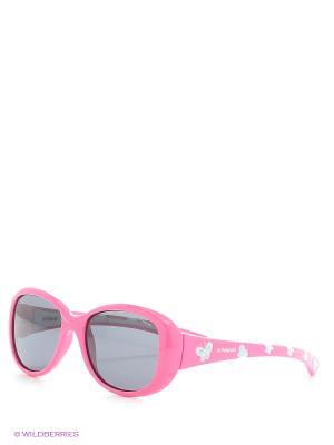 Солнцезащитные очки Polaroid. Цвет: розовый, синий
