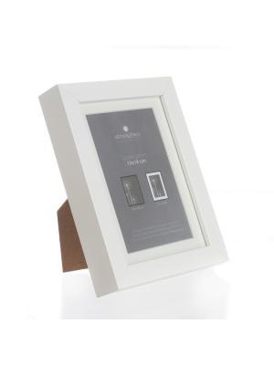 Рамка для фото 13х18 см, цвет белый JJA. Цвет: белый